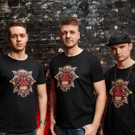 Defqon1 2019 anthem t-shirt svart