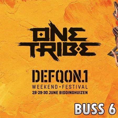 Defqon1 Weekend Festival 2019 Buss 6