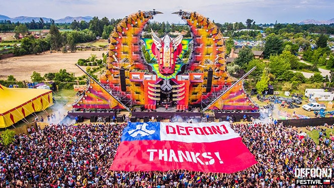 Defqon1 chile big flag