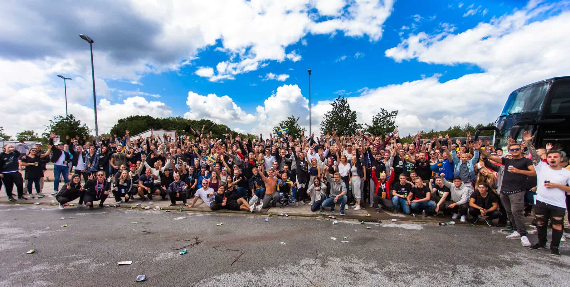 Defqon group picture